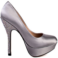Partyy R - Grey Satin