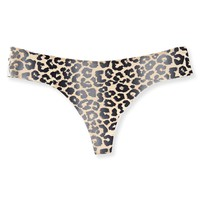 CHEETAH NO-SHOW THONG
