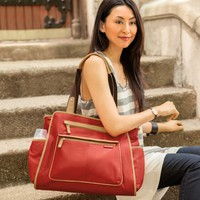 Skip Hop Diaper Bag Grand Central Cinnamon