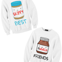Nutella & Skippy Sweatshirts