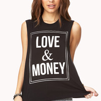 Love & Money Muscle Tee