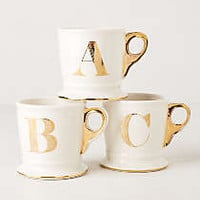 Limited Edition Golden Monogram Mug