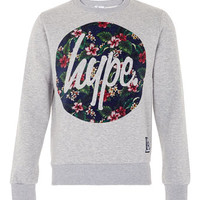 Hype 'Flower' Sweatshirt* - Men's Hoodies & Sweatshirts - Clothing