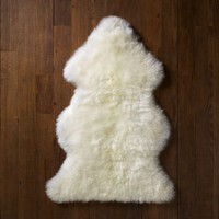 Natural Sheepskin Wool Rug