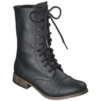 Women's Mossimo Supply Co. Khalea Combat Boots - Black