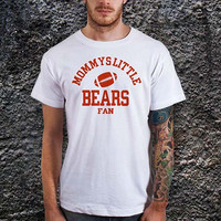 Mommys Little Bears Football T-Shirt -Cotton Men T Shirt ( Various Color Available )
