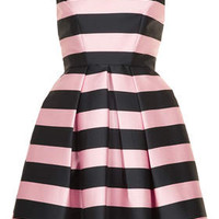 STRIPE PROM DRESS