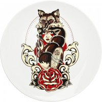 SOURPUSS ARCTIC FOX PLATTER - Housewares