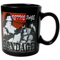 BETTIE PAGE BONDAGE COFFEE MUG