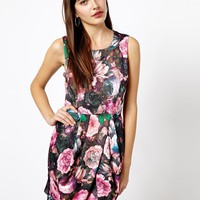 A Wear Digital Flower Tulip Dress