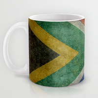 National flag of the Republic of South Africa Mug by Bruce Stanfield