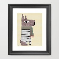Morse Framed Art Print by bri.buckley