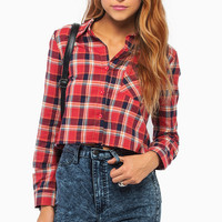 Sienna Plaid Top $36
