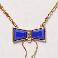 Azul Bow Necklace