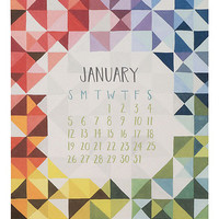 Paper Source 2014 Piece and Patterns Calendar from Paper Source | BHG.com Shop