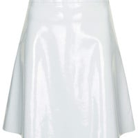 PATENT ALINE SKIRT BY BOUTIQUE