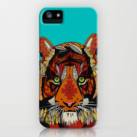 tiger chief iPhone & iPod Case by Sharon Turner