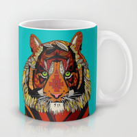 tiger chief Mug by Sharon Turner