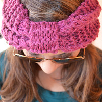 Basically Perfect Headband: Plum