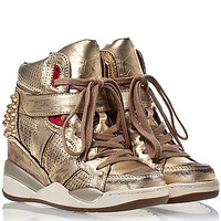 The Freak Sneaker in Gold