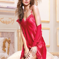 Satin Slip & Lace Robe Gift Set - Dream Angels - Victoria's Secret