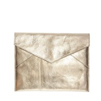 ASOS Leather iPad Case In Metallic Crackle
