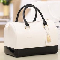 Latest Style Chic New Cute Jelly Candy Bag Satchel Bag Pillow Jelly Bag Handbags
