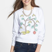 Starling 'Sad Tree' Sweatshirt (Juniors) (Online Only) | Nordstrom
