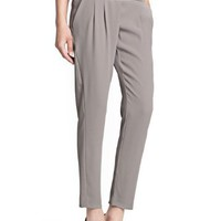 MANGO Women's Bow Tapered Trousers