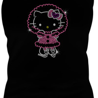 Hello Kitty Christmas Rhinestone Iron On - DIY Rhinestone Transfer