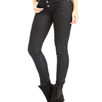 Judy Blue Black High-Waisted Skinny Jeans