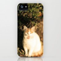Last sun flares iPhone & iPod Case by SensualPatterns
