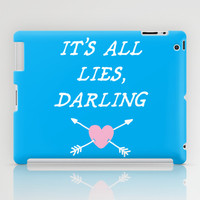 All Lies iPad Case by LookHUMAN