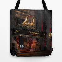 ThePeninsula New York At Christmas Tote Bag by Steve Purnell