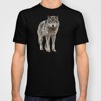 WOLF: THE SILVER HUNTER T-shirt by Rebecca Allen