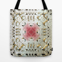 Egyptian Style Tote Bag by Lynn Bolt