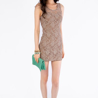 Sweetheart Lace Open Back Dress $24