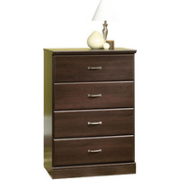 Walmart: Mainstays The Parklane Collection 4-Drawer Chest, Cinnamon Cherry