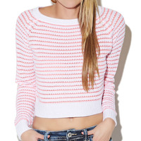 Birdseye Pullover Sweater | Wet Seal
