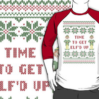 Get Elfd Up Buddy Elf Ugly Christmas Sweater