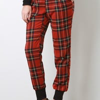Plaid Faze Pants