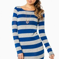 HOLLANDER STRIPED DRESS