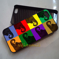 Cute Elephant Art iPhone 5C Case, iPhone 5S/5 Case, iPhone 4S/4 Case, Samsung Galaxy S3/S4, Premium Case Cover