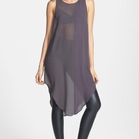 Leith Mixed Crepe Tunic | Nordstrom