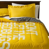 TOO by Blu Dot Bed Bugs Bite Reversible Duvet Cover Set