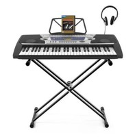 MK-2063 54-key Portable Keyboard by Gear4music + Accessory Pack