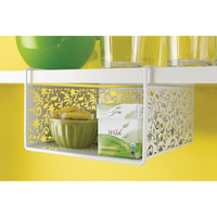 Vinea Undershelf Basket - White