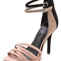 Jules Colorblock Ankle Strap Sandals