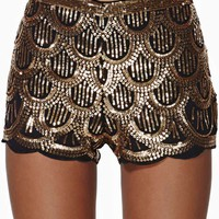 Deco Sequin Shorts
