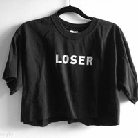 Loser Crop Top